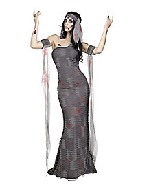 Zombie Mummy Adult Womens Costume