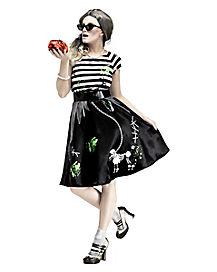 Zombie Sock Hop Adult Womens Costume