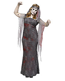 Zombie Mummy Deluxe Plus Size Womens Costume