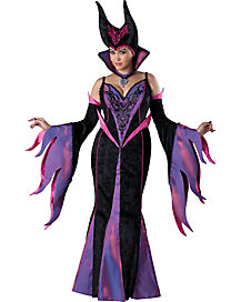 Adult Dark Sorceress Plus Size Costume