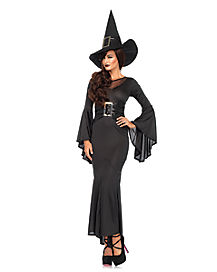 Adult Womens Wickedly Sexy Witch Costume
