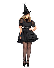 Adult Bewitching Witch Plus Size Costume
