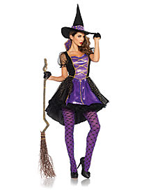 Adult Womens Crafty Vixen Witch Costume