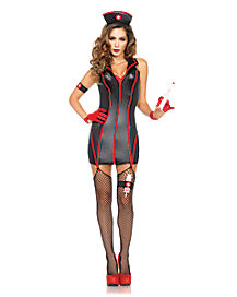Heart Stopping Nurse Adult Womens Costume