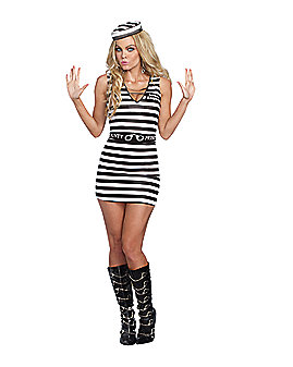 Adult Hitting the Bars Prisoner Costume