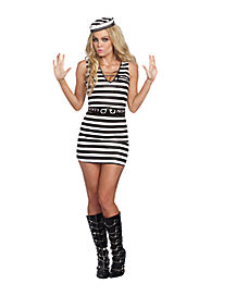 Hitting the Bars Prisoner Adult Womens Costume