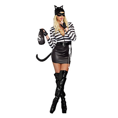 Cat Burglar Adult Costume