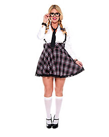 Adult High Class Nerd Plus Size Costume