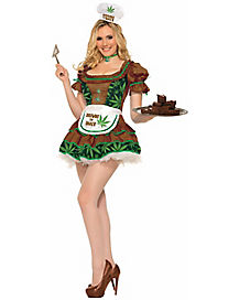 Brownie the Baker Adult Womens Costume