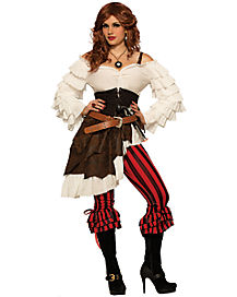 Renegade Ruby Adult Womens Pirate Costume