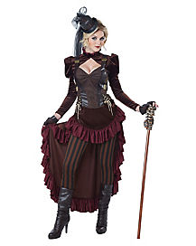 Victorian Steampunk Adult Womens Costume