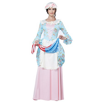Colonial Lady Adult Womens Costume