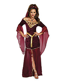 Adult Medieval Enchantress Costume