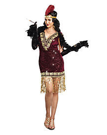 Adult Sophisticated Lady Plus Size Costume