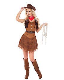 Adult Silver Star Cowgirl Costume