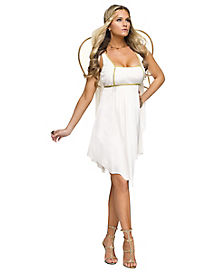 Adult Golden Angel Costume