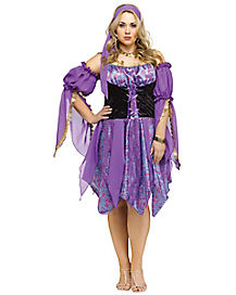 Adult Gypsy Magic Plus Size Costume