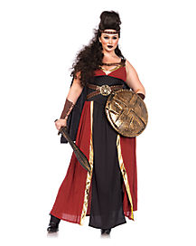 Adult Regal Warrior Plus Size Costume