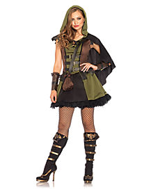 Darling Robin Hood Adult Womens Costume