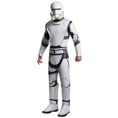Star Wars Episode VII Force Awakens Flame Trooper Mens Costume