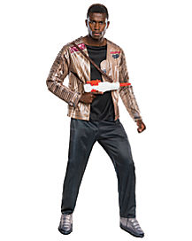 Adult Finn Costume Deluxe - Star Wars Force Awakens