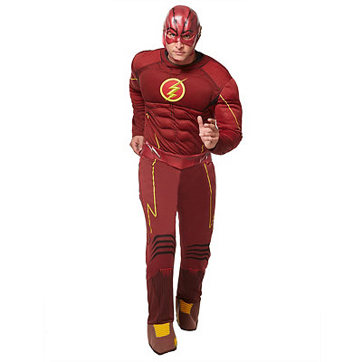 Flash Deluxe Muscle Mens Costume