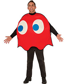 Pacman Blinky Adult Mens Costume