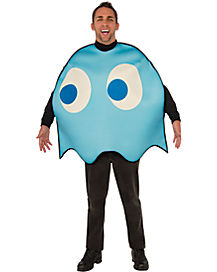 Pacman Inky Adult Mens Costume