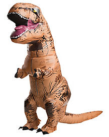 Adult T Rex Inflatable Costume - Jurassic World
