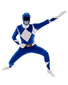 Power Rangers Blue Ranger Adult Mens Costume
