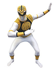 Power Rangers White Ranger Adult Mens Costume