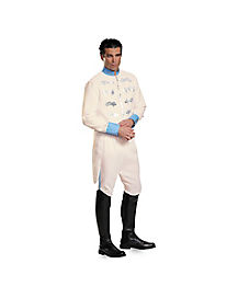 Adult Prince Plus Size Costume Deluxe - Cinderella