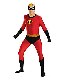 Mr. Incredible Skin Suit Adult Mens Costume