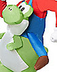 Adult Mario Riding Yoshi Inflatable Costume - Mario Bros