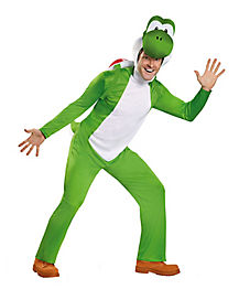 Adult Yoshi Plus Size Costume Deluxe - Mario Bros