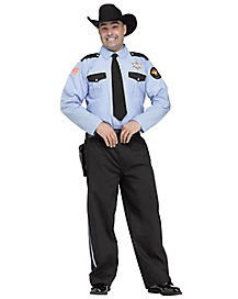 Adult Sheriff Rosco P. Coltrane Costume - Dukes of Hazard