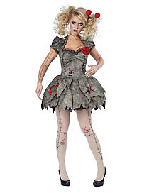 Adult Voodoo Dolly Costume