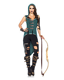Rebel Robin Hood Adult Womens Costume