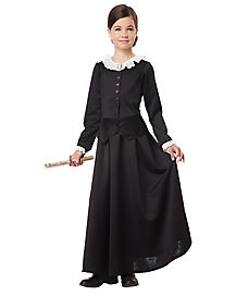 Colonial Girl Susan B Anthony Child Costume