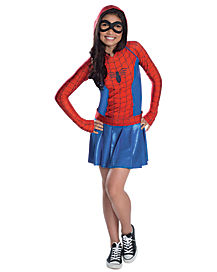 Spidergirl Dress Child Costume