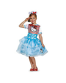 Kids Sailor Hello Kitty Tutu Costume Deluxe - Hello Kitty