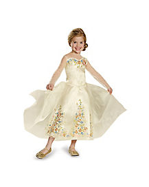 Kids Cinderella Wedding Dress Costume - Cinderella Movie