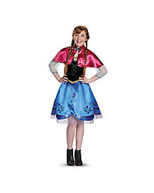 Tween Anna Costume - Frozen