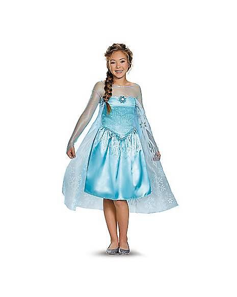 Kids Elsa Costume Frozen Spirithalloween Com