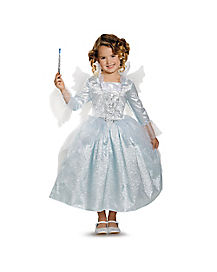 Cinderella Movie Fairy Godmother Girls Costume