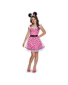 Tween Pink Minnie Mouse Costume - Disney