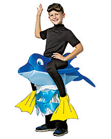 Kids Dolphin Piggyback Costume