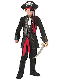 Kids Seven Seas Pirate Costume
