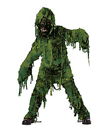 Kids Swamp Monster Costume
