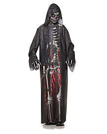 Kids Fiery Grim Reaper Robe